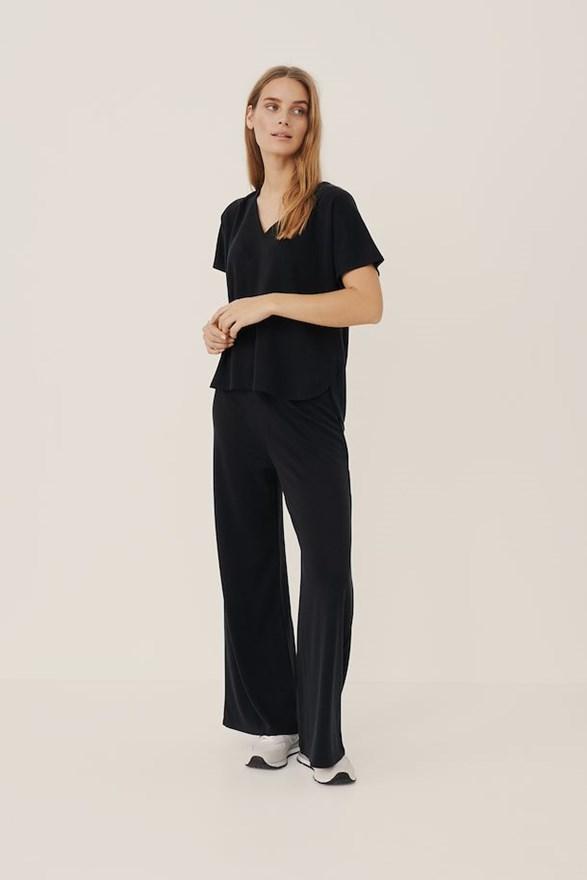 Topstore Långärmad stickad klänning